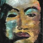 Black Woman - Acryl auf Papier 2011 (70x90cm)