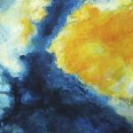 Lagune - Acryl auf Leinwand 2012 (90x90cm)