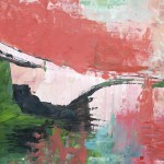Abendrot - Acryl auf Papier -2012 (42 x 30cm)