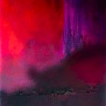 Nestwärme - Pigmente auf Papier 2013 (50x70cm)