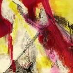 Gestalt im Licht - Acryl 2014 (30x30cm)
