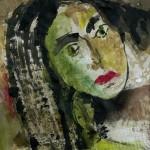 Tarot - Acryl auf Papier 2014 (30x40cm)