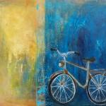 Alte Liebe - Acryl auf Leinwand 2014 (70x90cm) verkauft