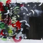 Tag und Nacht - Acryl auf Papier 2016 (40x30cm)