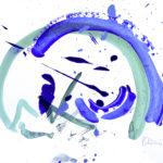 TiefseeI - Acryl auf Papier 2016 (20x30cm)