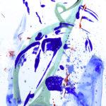 TiefseeII - Acryl auf Papier 2016 (20x30cm)