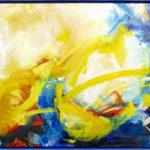 frischer Wind - Acryl auf Leinwand 2020 (120x80) verkauft