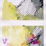 Lime light - Aquarell mix - 2012 (15x22cm)